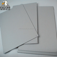 2.0mm 2.5mm 3mm thickness laminated grey board