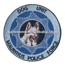 Dog Unit logo embroidery emblems