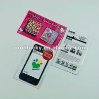 Popular gifts-- various designes adhesive screen cleaner