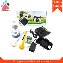 Shezhen alibaba express rechargeable w227 electric dog fence electric pet fence