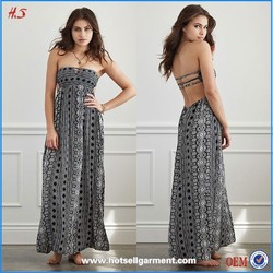 Western Designs Vintage Print Long Dress Maxi Dress