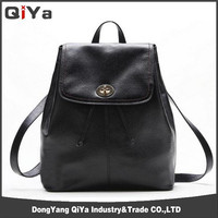 Korean High Class Student Sexy Girls Leather School Bag