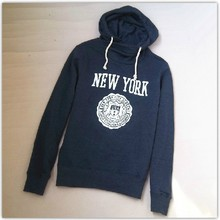 New York Black His and Hers Hoodie Unisex