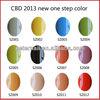 CBD 2013 Fashion Color One Step Gel Polish Nail Art UV Gel