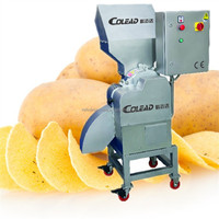 Three Dimensional Fast Speed French Fries Potato Chips Slicing Machine