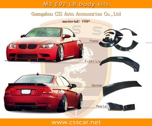 Vogue LB phong cách môi phía trước cho BMW e92 m3 body kit bán hot!!!