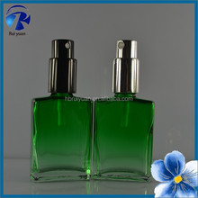 Free samples colored empty cosmetic perfume bottle