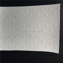 0.75 mm brown pvc car seat leather with both direction stretch fabric from Jiangyin
