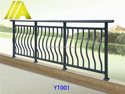 YT-001 China supplier Home/Garden decoration steel fencing design