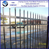 Hot sale wrought iron wire fence panel/decorative welded wire mesh fence