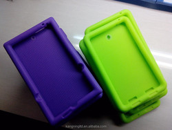 strong tensile strength kid proof silicone kids 7 inch tablet case