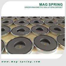 Strong Ferrite Pot Magnet