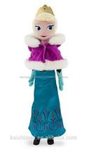 Nuevas muñecas congelados itewm juguetes de peluche juguetes elsa anna