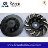 10 inch metal bond segmented diamond grinding wheel for concrete