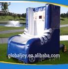 Mini basquete inflável atirador jogos de desporto/aro de basquetebol inflável para as crianças