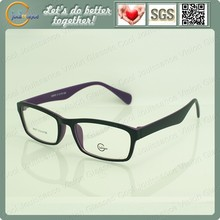 Changeable temple eyeglasses frame for decorative eyewear