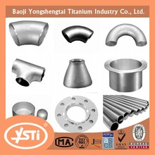 ASTM B363 Titanium Fittings ASTM B381 Titanium Flanges