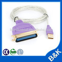 india market 36 pin usb to parallel ieee 1284 printer adapter cable with warranty