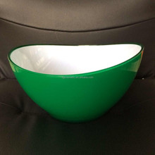 NEW Double-sided printing plastic reusable salad bowls