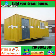 20FT Living Steel Structure Sandwich Panel Prefab Container House / 20FT container house / Steel structure container homes
