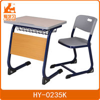 factory supply school desk and chair school furniture for sale