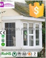 hot sale upvc windows section cheap price