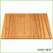 Bamboo Shower Mat/Anti-Slip Bathrrom Floor Mat/Homex_BSCI