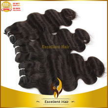 Real Human Hair weaving premium too body natural body wave brazilian hair weave for sale