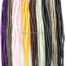 No Virgin Hair and Hair Weaving Hair Extension Type synthetic dreadlocks