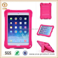 For iPad Mini 2 Hybrid Case with Kickstand Hot Pink