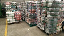 Small bales 45 kg bales sorted used clothing