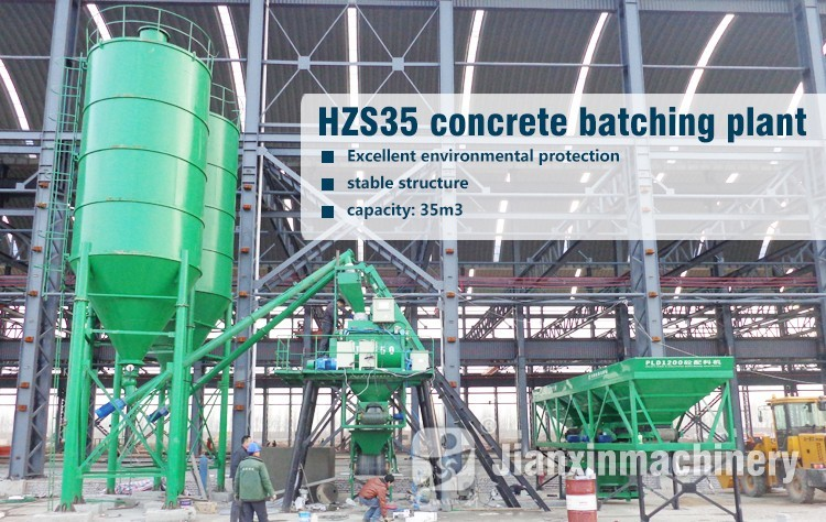 ensuring the mixing quality of concrete