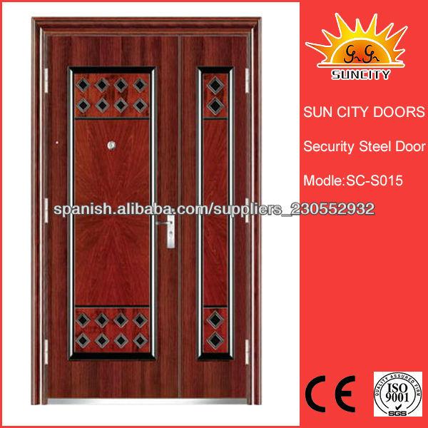 Fotos y diseos de puertas puertas de madera para entrada for Puertas de entrada principal