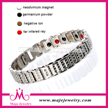 Cool sports bio health magnetic bracelet for men China supplier new product