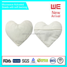 Microwave activated heart shape reusable heat packs