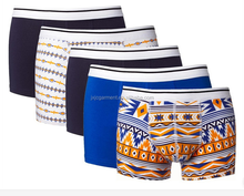 Mens Beautiful Underpants Mens Sexy Underwear With Printed