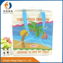 china manufacture cheap pp non woven cooler bag with lamination