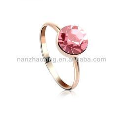 OUXI New design gold finger ring