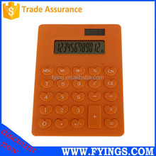 solar cell promotional electronic solar desktop calculator 12 digit hesap makinesi
