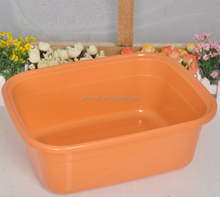 Korean style anti slip oblong plastic basin sink kitchen