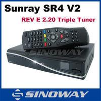 Sunray sr4 V2 sunray4 V2 hd se Triple tuner+WIFI+SIM 2.20 card Sunray 800Se hd Sr4 V2 sunray4 hd se sr4 800 SE V2 wifi