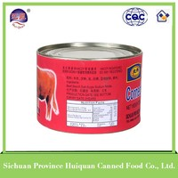 China wholesale beef products canned/canned corned beef brands