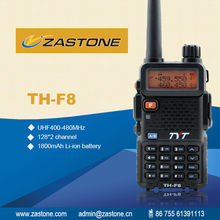 Channel name display and setting interphone TYT TH-F8 VHF UHF Handheld walkie talkie ham radio LED display mode