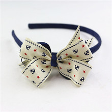 customized ribbon bow headbands hair accessory