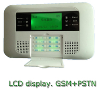 Low cost pstn anti theft gsm wireless home phone call system with ce