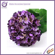 k2031-6 white hydrangea cut flowers cheap artificial hydrangea flower artificial hydrangea