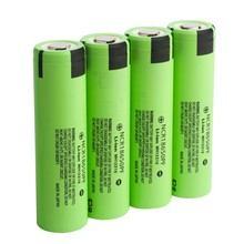 18650 li-ion battery ncr18650 PF with flat top