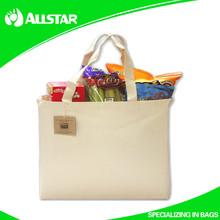 ASD2015A1012 Reusable 100% Cotton Shopping Grocery Bag