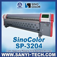 3.2m Outdoor Paper Printer / Label Printer, SinoColor SP-3204 with Spectra Polaris PQ512 Heads