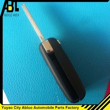 2014 high quality peuegot 306 Remote Flip Key Shell Case Fob without groove For replacement